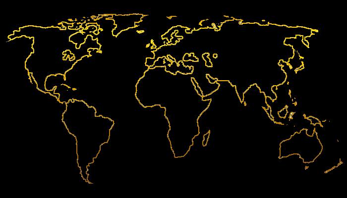 wall-murals-world-map-vector-orange-gradient